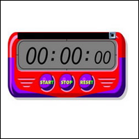 stopwatch-digibord