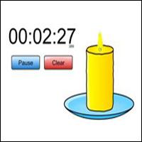 time-timer-digibord-kaars